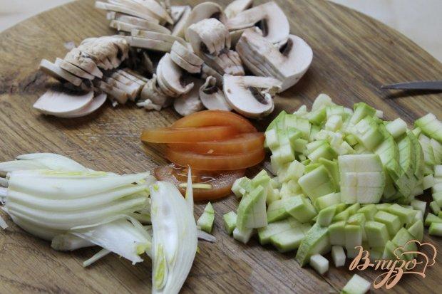 Нототения тушенная с овощами в томате
