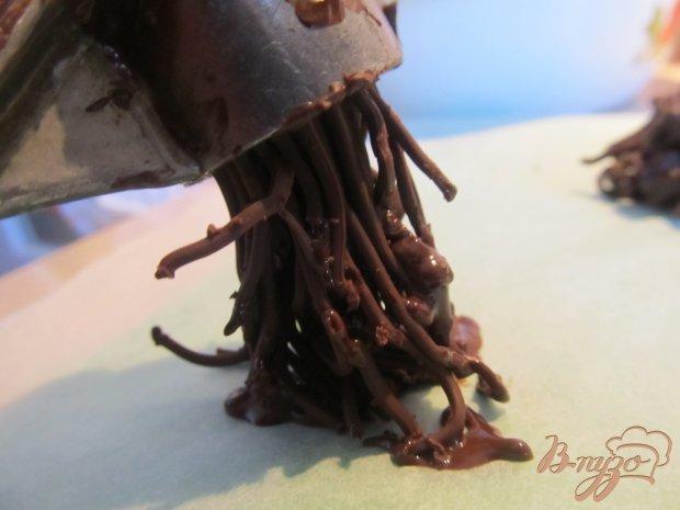 """Рецепт Шоколадные гнезда с """"яйцами"""""""