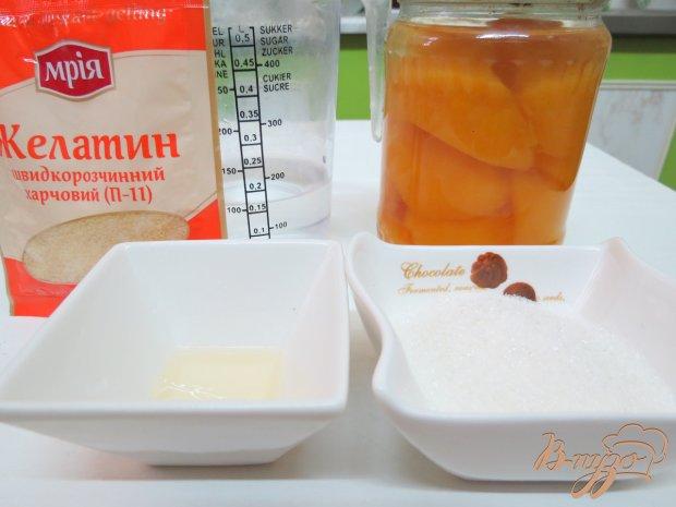Рецепт Мусс из персикового пюре