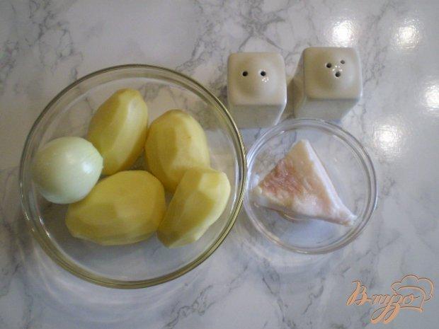 Рецепт Картошка с луком на сале