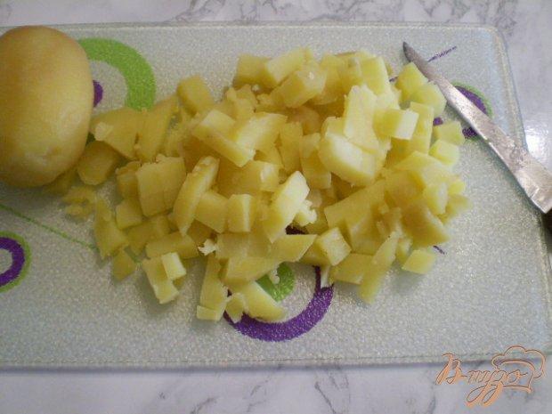 Морковно-картофельный салат с луком