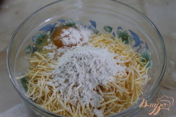 Сырные шарики жаренные во фритюре