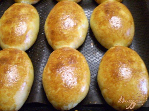 Духовые пирожки с картошкой