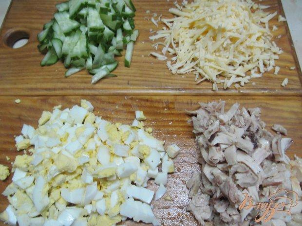 Салат с кус-кусом