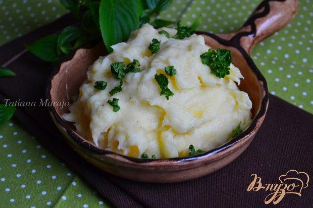Картофельное пюре со сливками и мускатом