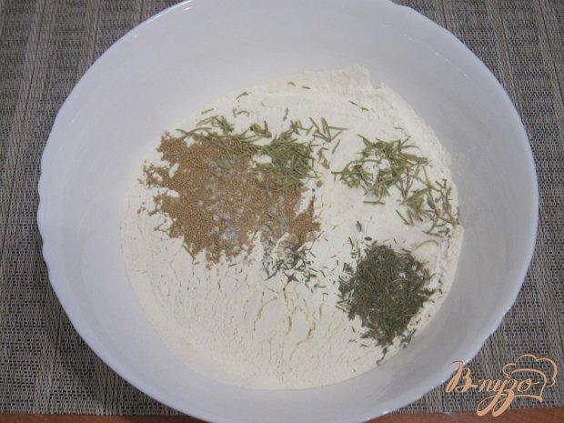 Фокачча с травами
