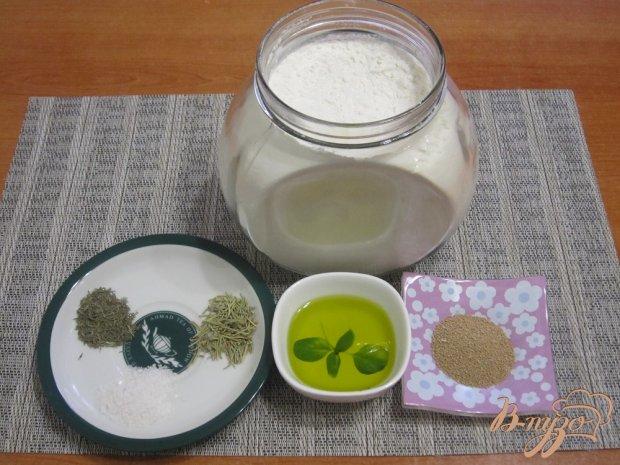 Рецепт Фокачча с травами