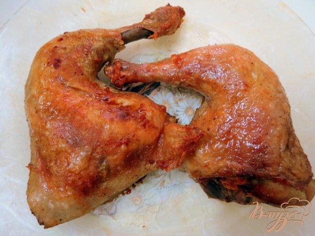 Куриные ножки жареные с соусом