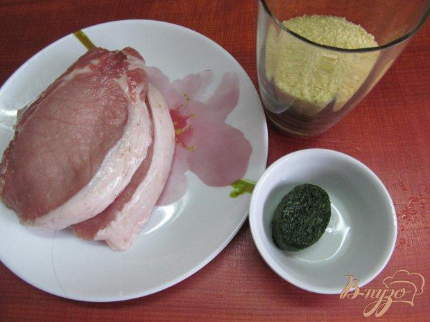 Рецепт Свиной стейк на сковороде-гриль