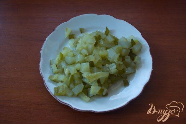 Винегрет с огурцом ( без капусты)