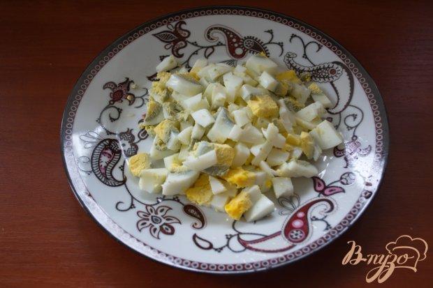 Салат куриный с черносливом