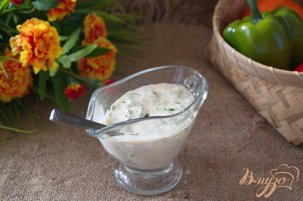 Сметанный соус к долме или другим блюдам
