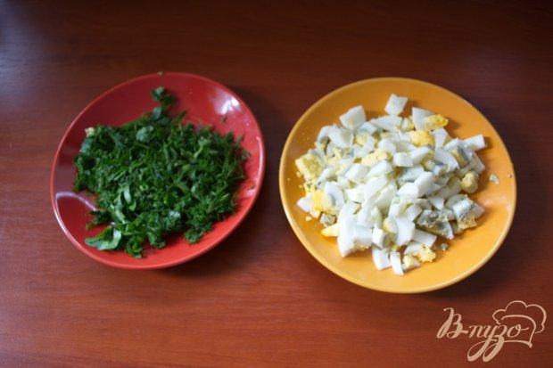 Рецепт Салат с копченой колбасой