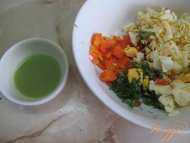 Закуска из копченной салаки