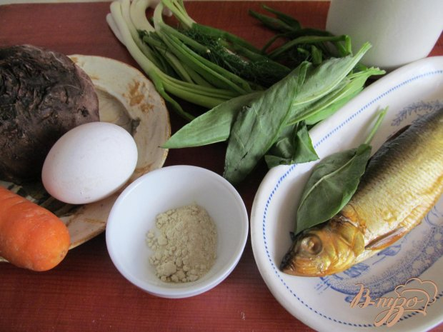 Рецепт Закуска из копченной салаки