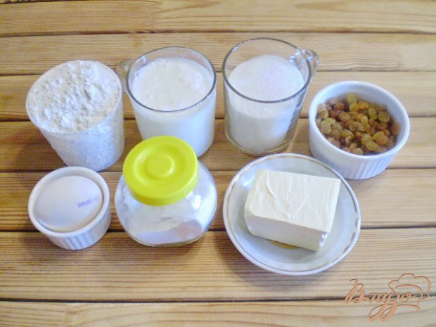 Рецепт Кексики с изюмом