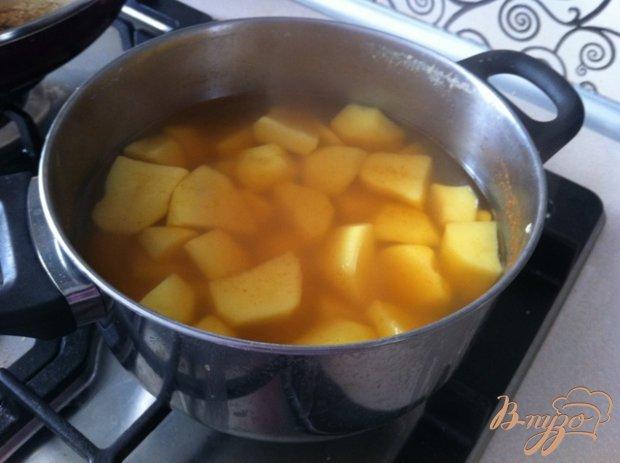 Картофельное пюре с карри и паприкой