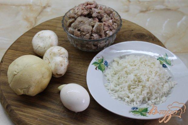 Рецепт Клубочки с мясной начинкой в тесте