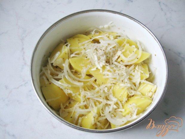 Картофель запечённый с сельдереем