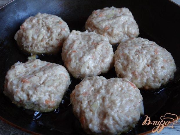 Котлеты из квашенной капусты с грибным припеком