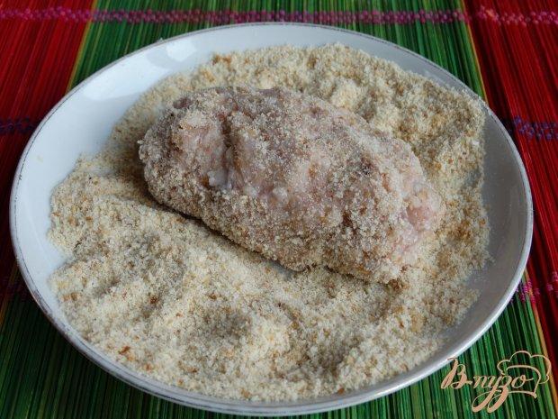 Куриные гречаники с яично-сырной начинкой