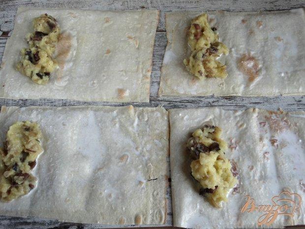 Ложные пирожки с картофелем и грибами