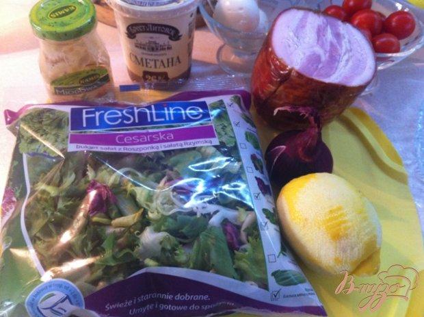 Рецепт Вогезский салат