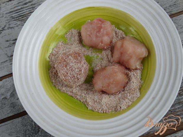 Рецепт Рис с куринымии фрикадельками и овощами в мультиварке