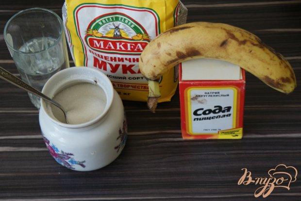 Постное печенье с бананом