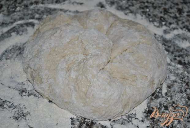 Рецепт Фокачча с луком, чесноком и помидорами