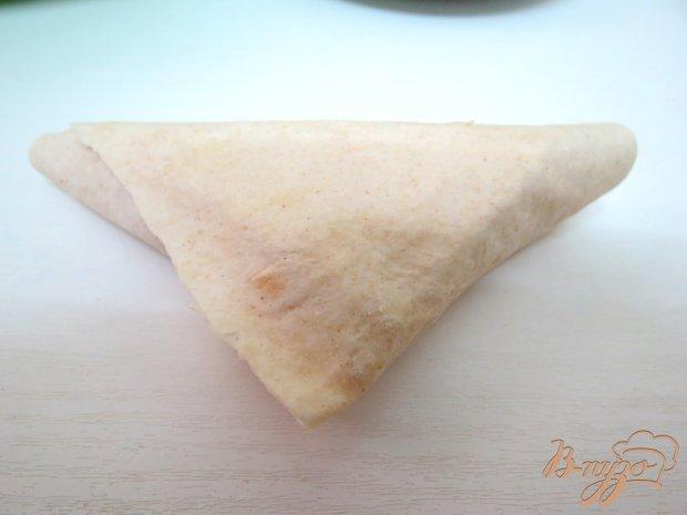 Пирожки (быстрые) с мясом из лаваша
