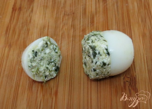Перепелиные яйца фаршированные
