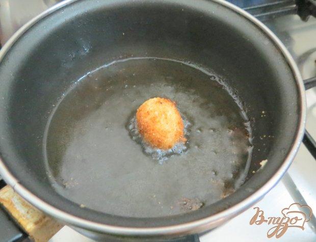 Перепелиные яйца в панировке.