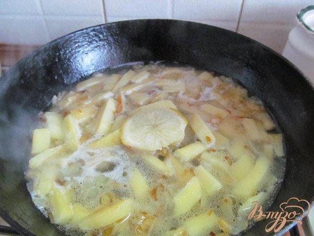 Суп из пастернака и фасоли