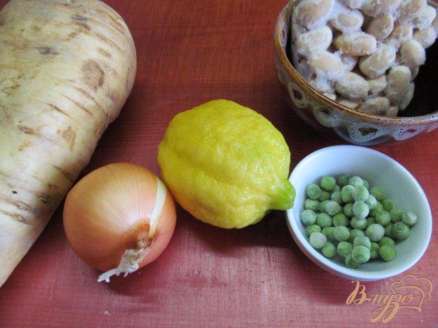 Рецепт Суп из пастернака и фасоли