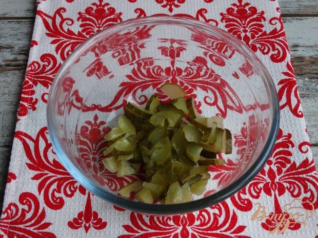 Рецепт Салат с фасолью кукурузой и ветчиной