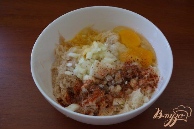 Картофельная бабка с сосисками