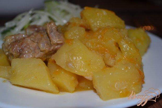 Жаркое со свининой в мультиварке-скороварке