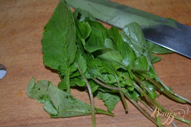 Рецепт Салат из редиса и зелени