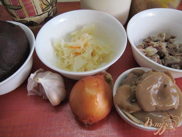 Рецепт Салат из свеклы капусты и мяса