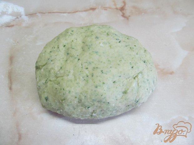 Зеленая домашняя лапша