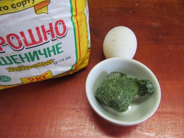 Рецепт Зеленая домашняя лапша
