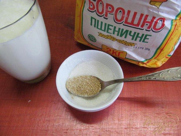 Рецепт Булочки на молоке с кориандром