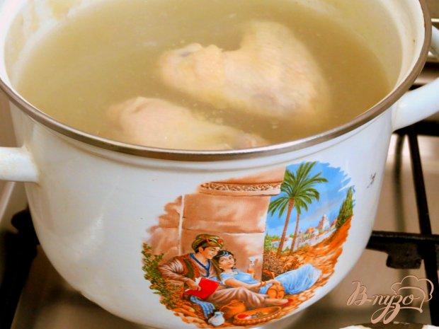 Суп с крапивой и шпинатом