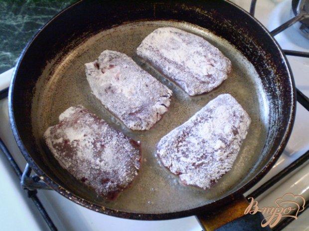 Мини-стейки из печени