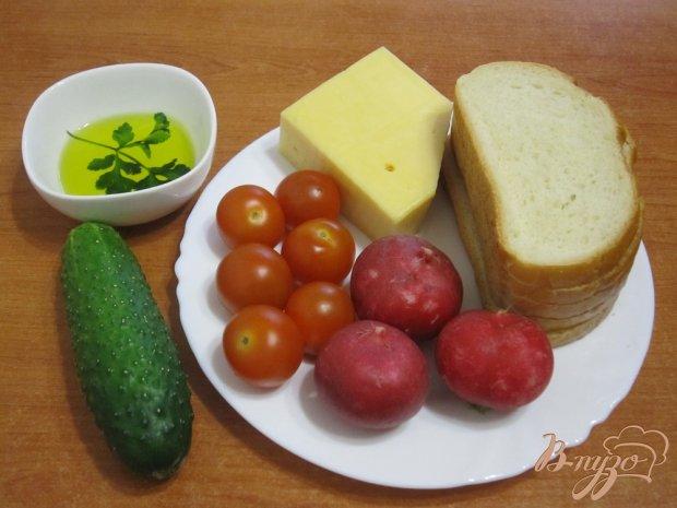 Сэндвич в виде шашлыка