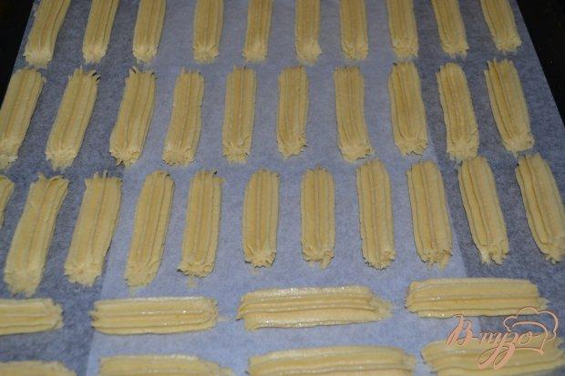 Песочное печенье с карамелью