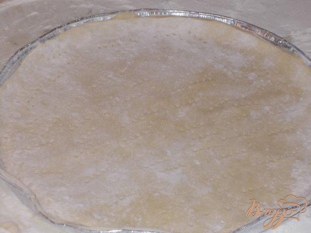Пирог с луком - пореем