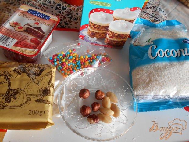 Рецепт Домашние конфеты из марципана