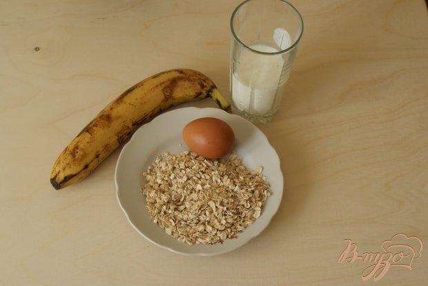 Рецепт Банановые оладьи с геркулесом
